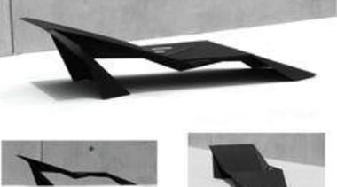 by Paul Wilding - Polo-Black - angle | angle, automotive exterior, black and white, furniture, product, product design, table, white