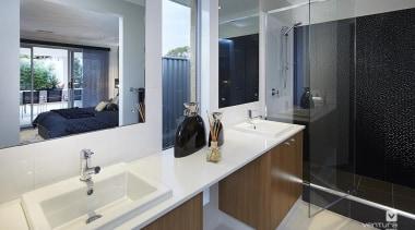 Ensuite design. - The Allure Display Home - bathroom, interior design, real estate, room, gray