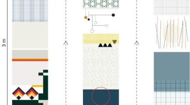 One of the challenges when putting up wallpaper design, font, line, pattern, product, product design, white