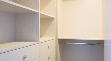 Wardrobe - cabinetry | closet | cupboard | cabinetry, closet, cupboard, furniture, room, shelf, shelving, white, gray