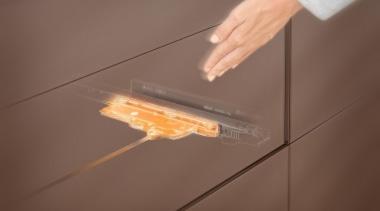 TIP-ON BLUMOTION for LEGRABOX - floor | flooring floor, flooring, lighting, product design, brown