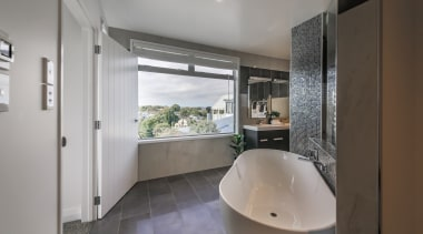 See more from Encompass Ideas Interior Design architecture, bathroom, interior design, property, real estate, room, gray