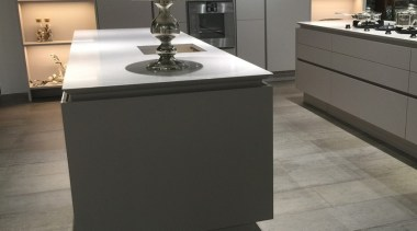 Concreate GKC CF102 1 - Concreate_GKC_CF102_1 - countertop countertop, floor, flooring, furniture, home appliance, interior design, kitchen, kitchen appliance, kitchen stove, product design, sink, tap, tile, black, gray