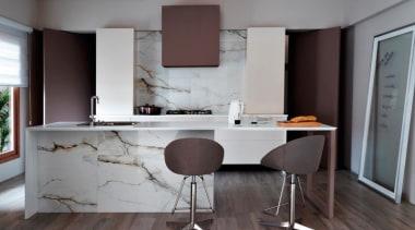 20x1200mm porcelain floor tiles - Eco Wood Teca chair, countertop, floor, flooring, furniture, hardwood, interior design, kitchen, room, table, wood flooring, gray