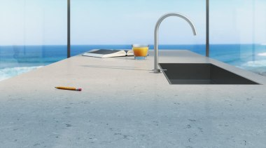 A beautiful soft fusion of light grey and floor, lighting, outdoor furniture, product design, sunlounger, table, water, gray