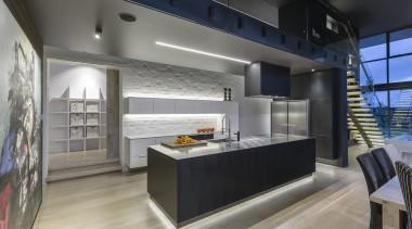 Robin Caudwell of Designer CabinetsThis kitchen was the interior design, kitchen, gray, black