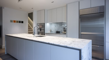 IMGL6943-8 - George Street, Apartment living - cabinetry cabinetry, countertop, cuisine classique, interior design, kitchen, real estate, gray
