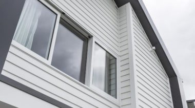 A-lign Concealed Fix 04 - A-lign Concealed Fix angle, architecture, building, daylighting, facade, home, house, property, roof, sash window, siding, window, white, gray