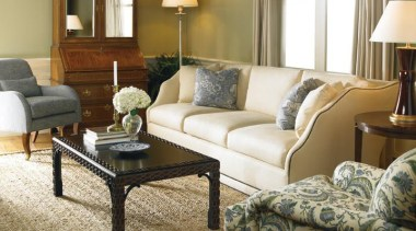 A balance between the classic, a sense of coffee table, couch, floor, flooring, furniture, hardwood, home, interior design, living room, loveseat, room, suite, table, brown, white