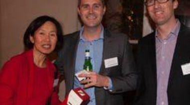 Karen Ngan Kee (Bossley Architects), Jared Dinneen and award, event, public relations, socialite, black