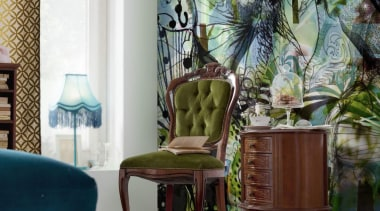 Aphrodites Garden Interieur - Italian Color Range - chair, couch, dining room, furniture, home, interior design, living room, room, table, wall, window, white