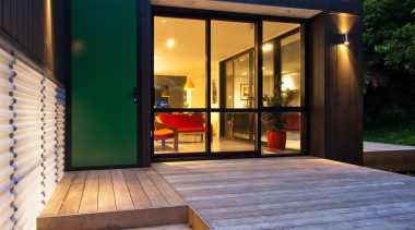 Entry - architecture | deck | facade | architecture, deck, facade, home, house, real estate, siding, wood