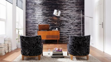 Birkenrinde Interieur - Italian Color Range - floor floor, furniture, home, interior design, living room, table, wall, white