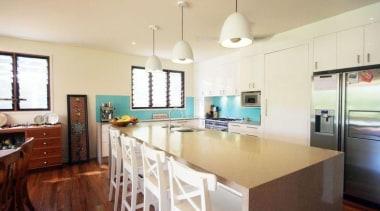 Graham Lloyd Architect Shitake - Shitake™ - ceiling ceiling, countertop, interior design, kitchen, property, real estate, room, orange