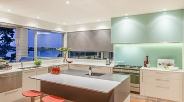 Tropical Kitchen - Tropical Kitchen - architecture | architecture, ceiling, countertop, floor, flooring, hardwood, interior design, kitchen, laminate flooring, room, table, wood flooring, gray