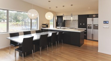 For more information, please visit www.gjgardner.co.nz countertop, floor, flooring, hardwood, interior design, kitchen, real estate, room, wood flooring, gray