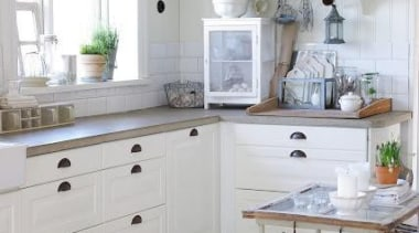 White Kitchen Design ...can't go wrong - When cabinetry, countertop, cuisine classique, floor, home, interior design, kitchen, room, tile, wall, gray