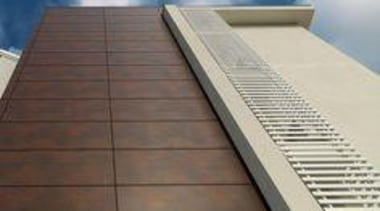 Laminam - architecture | building | composite material architecture, building, composite material, daylighting, facade, floor, roof, sky, gray, brown