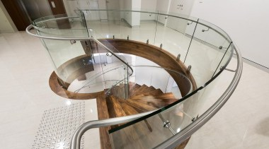 Atrium Homes - Atrium Homes - furniture | furniture, glass, handrail, product, product design, stairs, table, white, gray