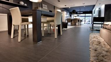Basalt Black - Basalt Black - floor | floor, flooring, hardwood, interior design, laminate flooring, lobby, tile, wood, wood flooring, gray, black