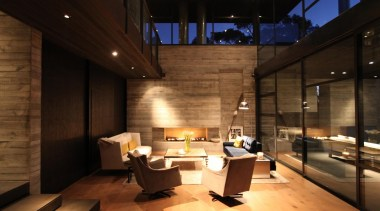Westmere House - Westmere House - architecture | architecture, interior design, lobby, black, brown