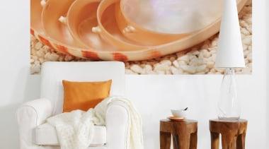 Nautilus Interieur - Italian Color Range - furniture furniture, interior design, orange, table, white, orange