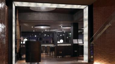 LED Lights - ceiling | interior design | ceiling, interior design, lobby, brown, black