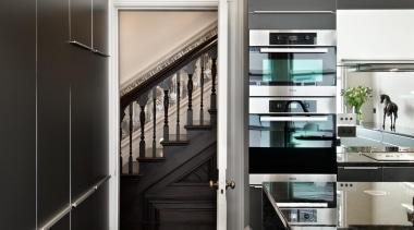 New Zealand Renovation Kitchen Designer of the Year architecture, interior design, black, white