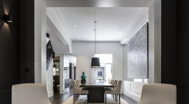 TIDA Australian Architect-Designed Renovation - Renovation Winner – ceiling, interior design, living room, gray, black