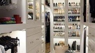 WALK IN CLOSET - Closet - walk in boutique, closet, interior design, retail, room, gray