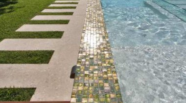 Bisazza swimming pools australia-le gemme - Bisazza Range reflecting pool, swimming pool, walkway, water, gray