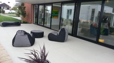 Gem  light grey exterior tiles - RAK floor, house, property, real estate, window, white, gray