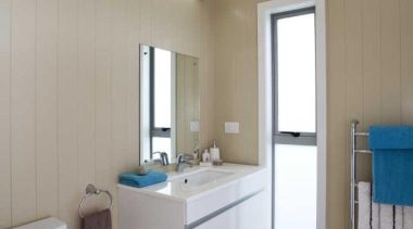 Contemporary bathroom - Bathroom - bathroom | floor bathroom, floor, home, interior design, real estate, room, gray