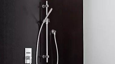 Rails & Fittings - Rails & Fittings - black and white, plumbing fixture, tap, black