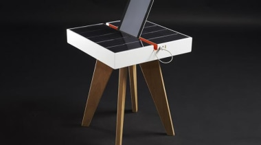 Now here's a smart idea – a table that desk, furniture, product, table, black