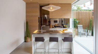 man architects – 2015 TIDA Australia Kitchens – architecture, countertop, dining room, furniture, house, interior design, kitchen, property, real estate, table, gray