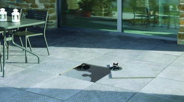 Wire grey exterior 20mm and hammered tiles on flagstone, floor, flooring, glass, road surface, tile, gray, teal