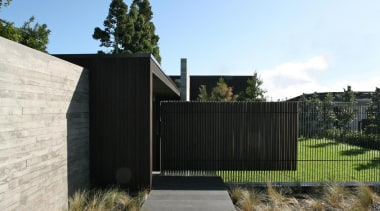 Westmere House - Westmere House - architecture | architecture, estate, facade, fence, gate, home, home fencing, house, landscape, outdoor structure, property, real estate, residential area, white, black
