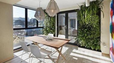 Living Wall - Vertical Garden - apartment | apartment, balcony, estate, home, house, interior design, patio, property, real estate, window, gray