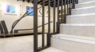 Concreate CF103 5 - Concreate_CF103_5 - floor | floor, flooring, handrail, stairs, white