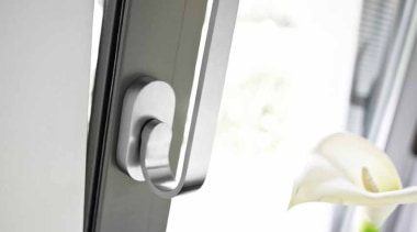 TB110-DK-O - Non-Locking Tilt and Turn Window Handle. product design, tap, window, white