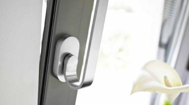 TB110-DK-O - Non-Locking Tilt and Turn Window Handle. product design, tap, window, white