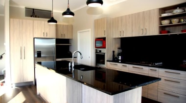 Modern kitchen design Millwater 2014 - Modern kitchen cabinetry, countertop, cuisine classique, interior design, kitchen, property, real estate, room, white