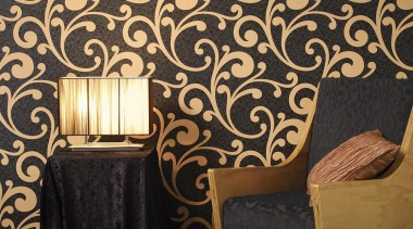 Bloomsbury House - Bloomsbury House Range - decor decor, interior design, pattern, wall, wallpaper, black