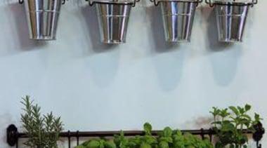 Living Wall - Vertical Garden - floristry | floristry, flowerpot, furniture, herb, plant, shelf, table, gray