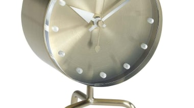 The perfect accessory for the desk with the clock, home accessories, product design, white