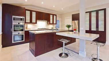 A Modern Twist - cabinetry | countertop | cabinetry, countertop, cuisine classique, furniture, interior design, kitchen, property, real estate, room, gray