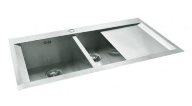 Englefield Cabriole™ Kitchen Sink CollectionCrisp, goemetric design with bathroom sink, hardware, kitchen sink, plumbing fixture, product design, sink, tap, white