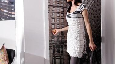 Italian Color Range - Empire Interieur - fashion fashion, girl, interior design, photo shoot, room, shoulder, white, black