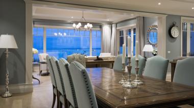 Living area - Living area - dining room dining room, interior design, living room, real estate, room, table, gray